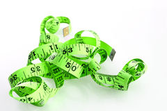 Nastro metrico di dieta Immagine Stock Libera da Diritti