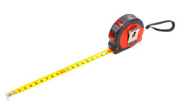 Nastro-misura d'acciaio Fotografia Stock