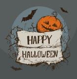 Nastro per Halloween Immagine Stock