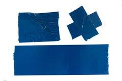 Nastro protettivo blu Fotografia Stock Libera da Diritti