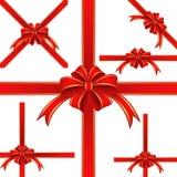 Nastro rosso Immagini Stock Libere da Diritti