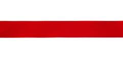 Nastro rosso Immagini Stock