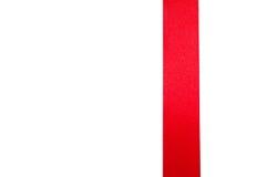 Nastro rosso Fotografia Stock