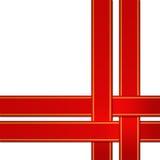 Nastro rosso Immagine Stock Libera da Diritti