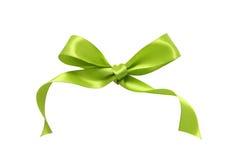 Nastro verde Fotografia Stock