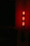 nastrojowych projektanta inetriors lampowy cień obrazy stock