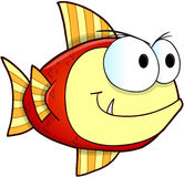 Nasty Fish Vector Royalty Free Stock Photos