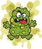 Nasty Germ Microbe Royalty Free Stock Photos