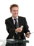 Nasty Sales Clerk Stock Photos