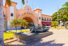 Nasz dama Afryka rynek Santa Cruz Tenerife Zdjęcie Royalty Free