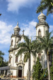Nasz dama Brazylia kościół Zdjęcia Stock
