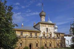 Nasz dama kościół w Rostov zdjęcia stock