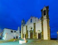 Nasz dama laguna kościół w Monsaraz, Obraz Stock