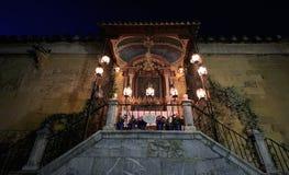 Nasz dama lampion kaplica (Retablo De Los angeles Virgen de los Daleko zdjęcie royalty free