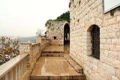 Nasz dama Nouriyeh monaster, Liban Obraz Royalty Free