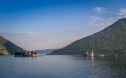 Nasz damy i St George starzy monastery przy wyspami Obrazy Stock