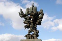 Nasz drzewo życie rzeźba - Jerozolima Obraz Stock