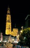 nasz katedralna Antwerp dama Belgium zdjęcie stock