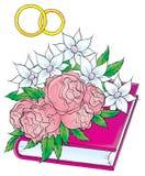 Nasz ślub 003 Obraz Royalty Free