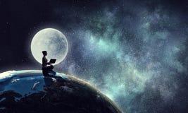 Nasz unikalny wszechświat Obrazy Stock