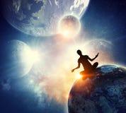 Nasz unikalny wszechświat Zdjęcie Stock