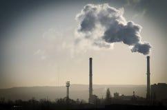 Naszły dymu komes od drymby Fotografia Royalty Free