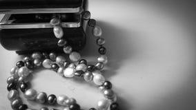 naszyjnik rosa rano perły sieci zdjęcia stock