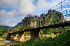 Natürlich in Laos stockbilder
