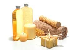 Natürliche Aromatherapy Handwerker-Seife stockfotografie
