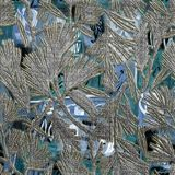 Natürliche Artblattdekormuster-Fliesennahaufnahme stockbilder