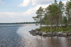 Natürliche Beschaffenheit von Karelien lizenzfreie stockfotos