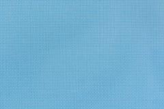 Natürliche blaue aida Beschaffenheit für den Hintergrund Nahaufnahme Stockbilder