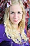 Natürliche blonde Frau Lizenzfreie Stockfotos