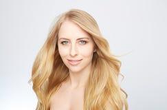 Natürliche blonde Schönheit Stockfoto