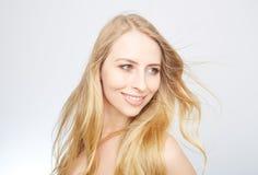 Natürliche blonde Schönheit Lizenzfreies Stockfoto