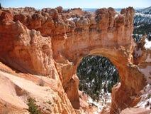 Natürliche Brücke in der Bryce Schlucht Stockbild