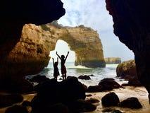 Natürliche Brücke in Portugal Lizenzfreie Stockfotos