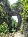 Natürliche Brücke, Virginia lizenzfreie stockfotografie