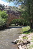 Natürliche Brücke Wyoming Lizenzfreies Stockbild