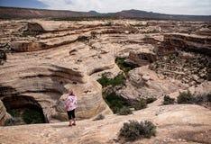 Natürliche Brücken nationales Mounument, Utah Lizenzfreie Stockfotos
