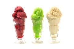 Natürliche Eiscreme Lizenzfreie Stockbilder