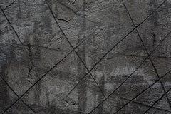 Natürliche Farbe des Gipses auf Betonmauer Stockbilder