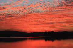 Natürliche Farbe im Himmel Stockfoto