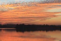 Natürliche Farbe im Himmel Stockfotos
