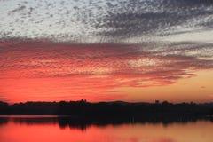 Natürliche Farbe im Himmel Lizenzfreies Stockbild