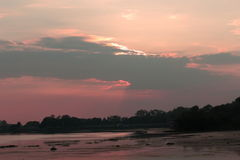 Natürliche Farbe im Himmel Stockfotografie