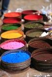 Natürliche Farben für Gewebe Lizenzfreies Stockfoto