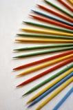 Natürliche farbige Bleistifte Lizenzfreie Stockfotografie