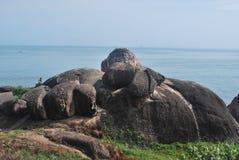 Natürliche Felsen Stockfotografie