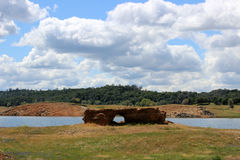 Natürliche Felsenbrücke Lizenzfreies Stockfoto